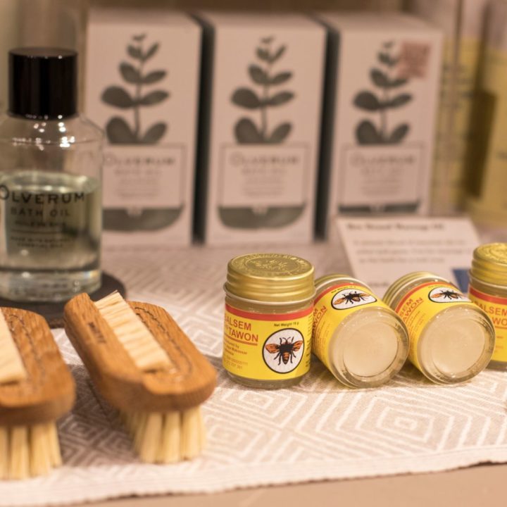 Natural Wood Nail Brush