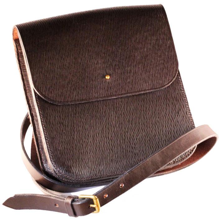 Leather Postmans Bag - Classic English