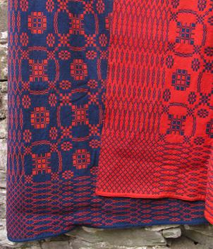 Old Welsh Blanket, Antique Tapestry AT68