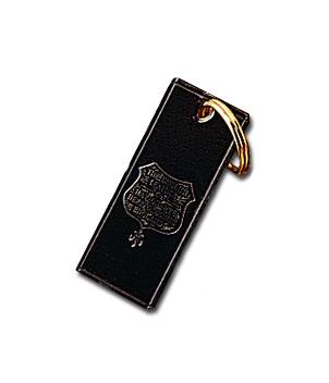 English Bridle Leather Key Ring