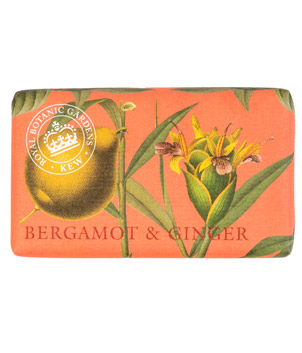 Kew Gardens Botanical Soap - Bergamot and Ginger
