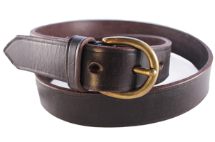 The English Leather Dark Old Brown Belt