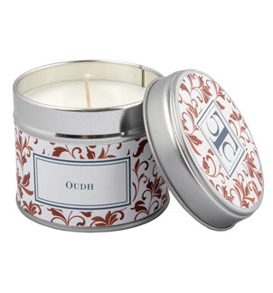 Scented Candle in a Tin - Oudh
