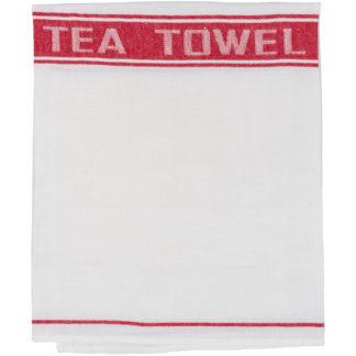 Traditional Irish Linen Tea Towel - Detail