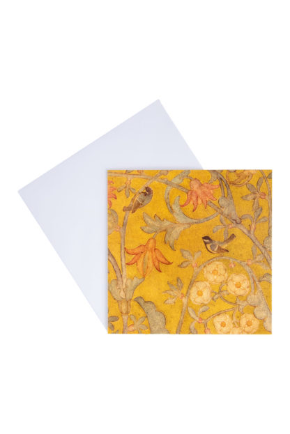 Birds Greeting Card by Phoebe Traquair 2