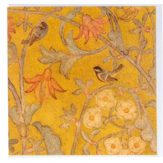 Birds Greeting Card by Phoebe Traquair