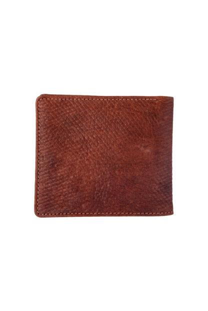 Russian Reindeer Leather Standard Wallet - Folded