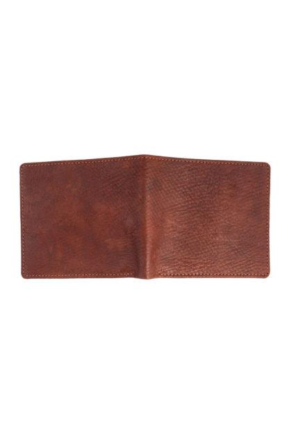 Russian Reindeer Leather Standard Wallet - Back View