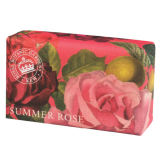 Kew-Gardens Botanical-Soap-Summer-Rose