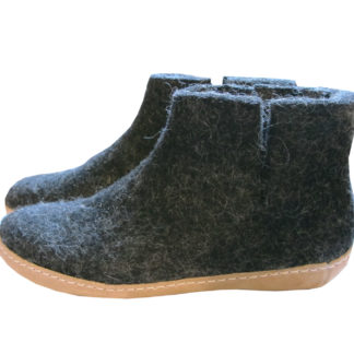 Felted Wool Boot Slippers