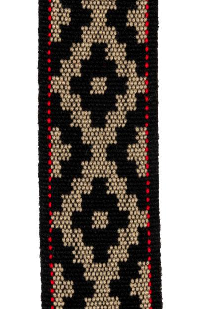 Leather Tribal Belt Detail