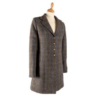 The Tara Womens Tweed Coat