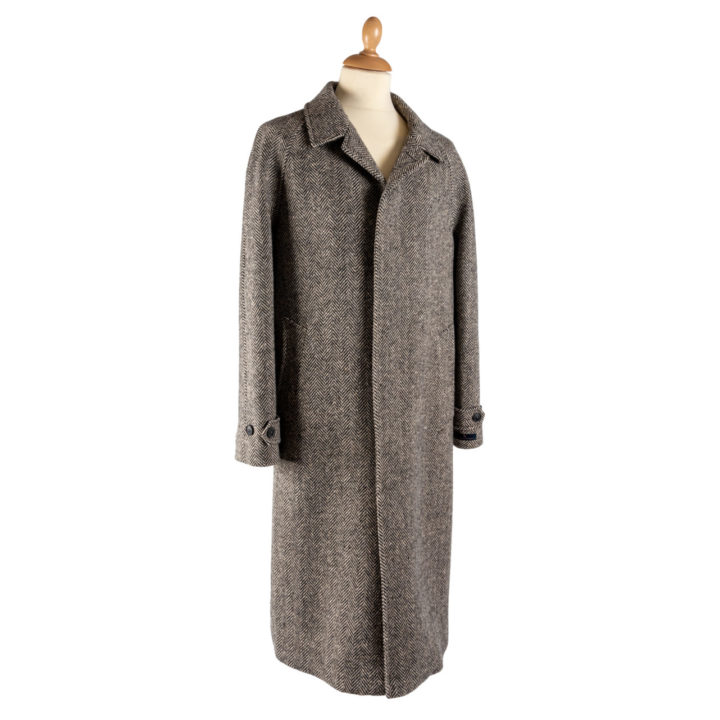 The Corrib - Mens Classic Tweed Overcoat