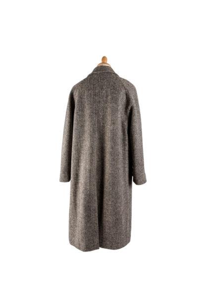 The Corrib - Mens Classic Tweed Overcoat Back
