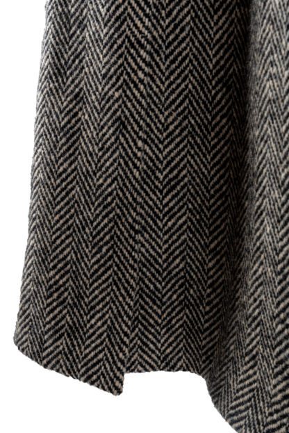 The Corrib - Mens Classic Tweed Overcoat Detail
