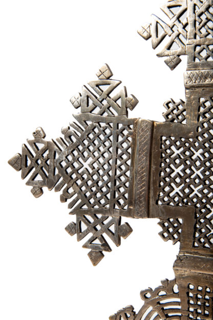 Ethiopian Coptic Cross LC02 Detail