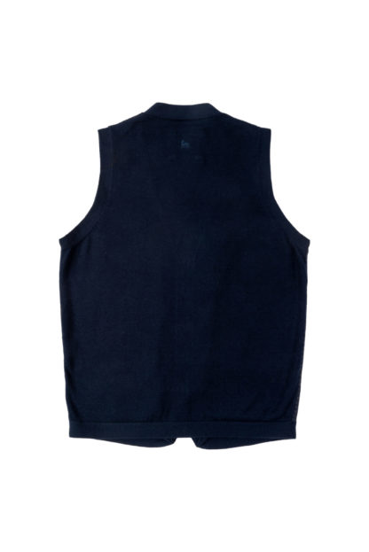 The Darney Mans Knitted Waistcoat Back