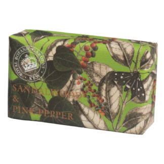 Kew-Gardens-Botanical Soap-Sandalwood and Pink-Pepper