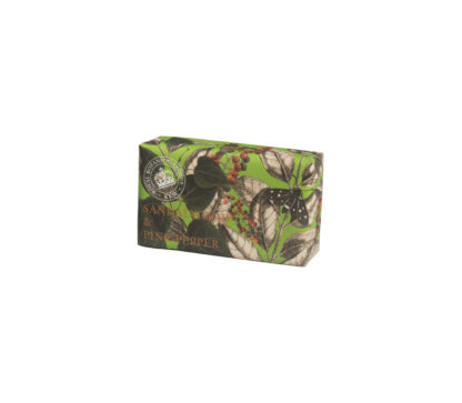 Kew-Gardens-Botanical Soap-Sandalwood and Pink-Pepper