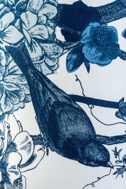 Garden Birds Lampshade Detail
