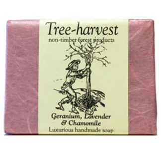 Geranium, Lavender and Chamomile Soap