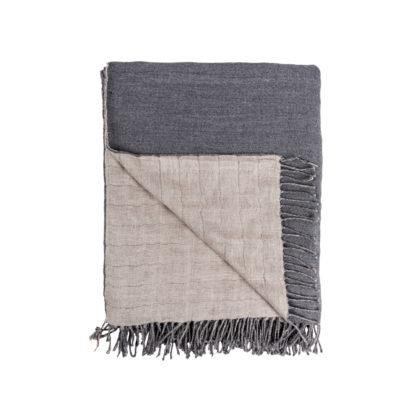 Irish-Linen-and-wool-dove-grey-Throw