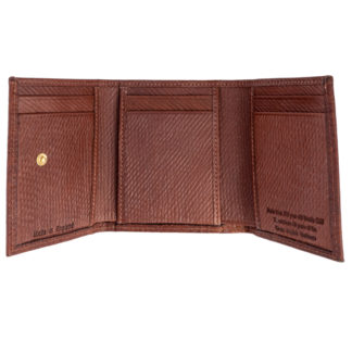 Russian Reindeer Leather Two Fold Wallet
