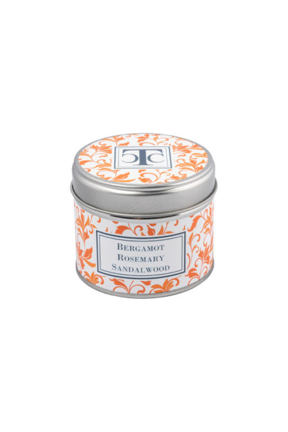 Scented Candle in a Tin - Bergamot 2