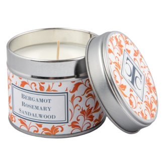 Scented Candle in a Tin - Bergamot