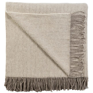Spanish Wool Manta Blanket Striped