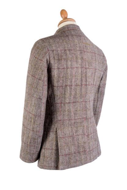 The HImal Mens Wool Tweed Jacket Back