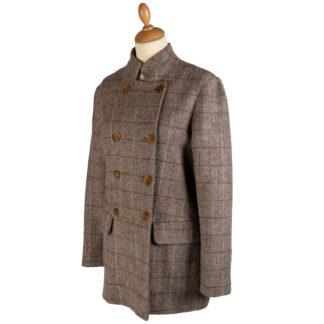 The HImal Womens Wool Tweed Jacket