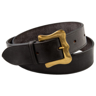 The Ploughmans Brown Leather Belt