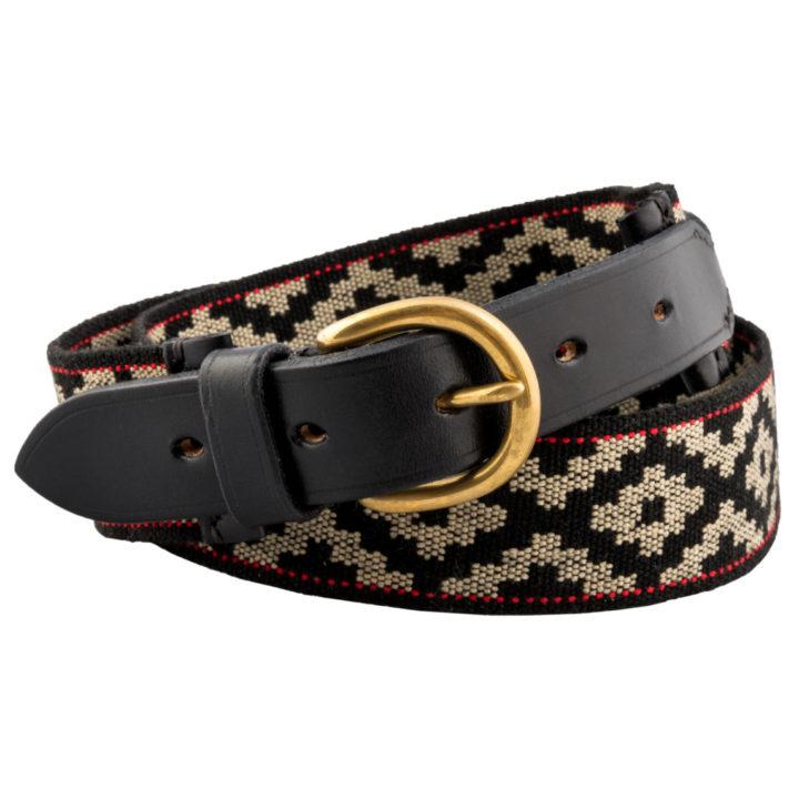 Leather Tribal Belt