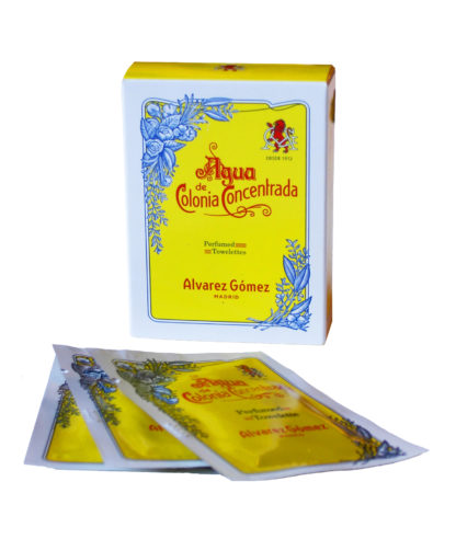 Spanish Cologne Perfumed Tissues
