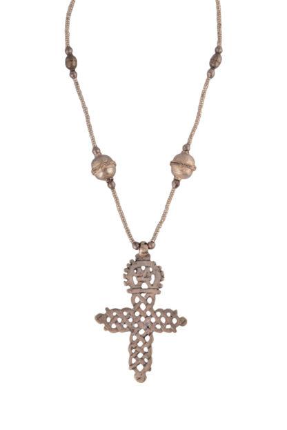 Ethiopian Coptic Cross and Chain EC10