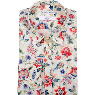 Womens-Liberty-Cotton Fitted Shirt Eva-Belle