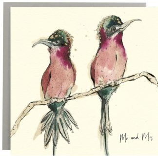Mr and Mrs Greeting Card