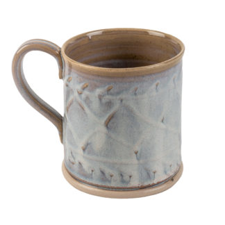 The Aran-Stitch-Pottery Mug