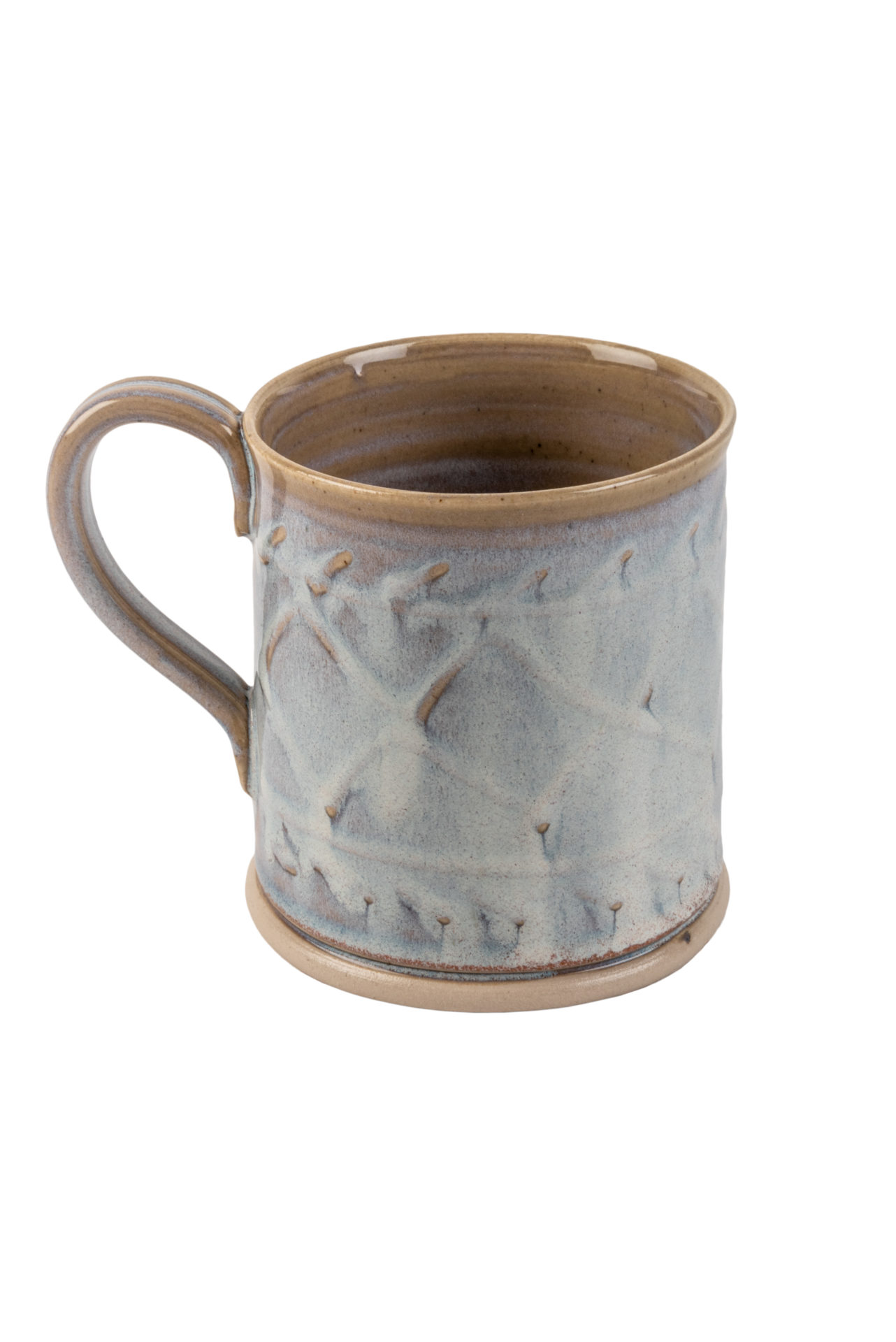The Aran Stitch Pottery Mug Great English Outdoors