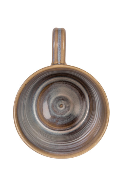 The Aran-Stitch-Pottery Mug-Aerial View