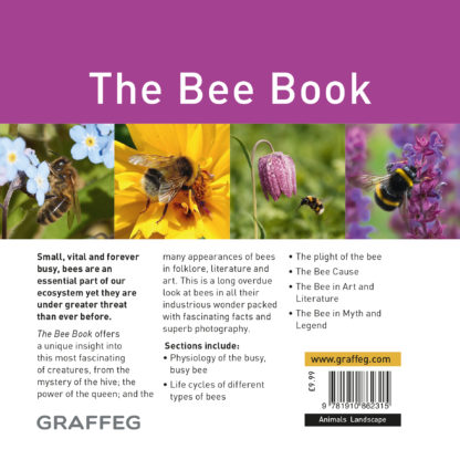The Bee Book Back Cover