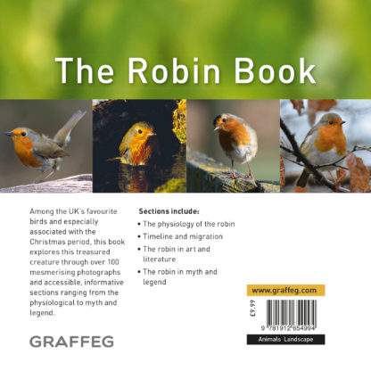 The Robin Book Back Cover