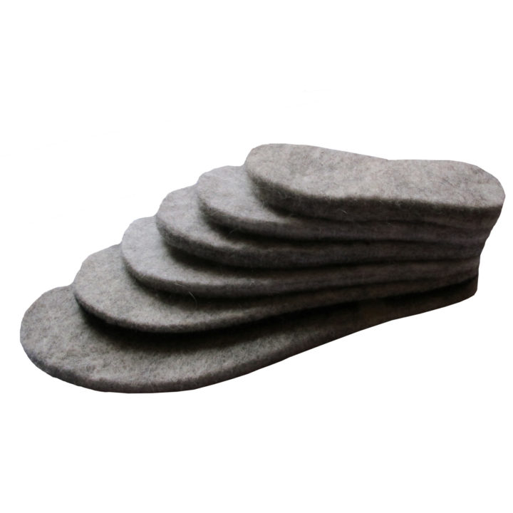 Felted Wool Insoles
