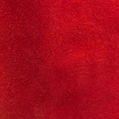 Scarlet Red Suede Lining