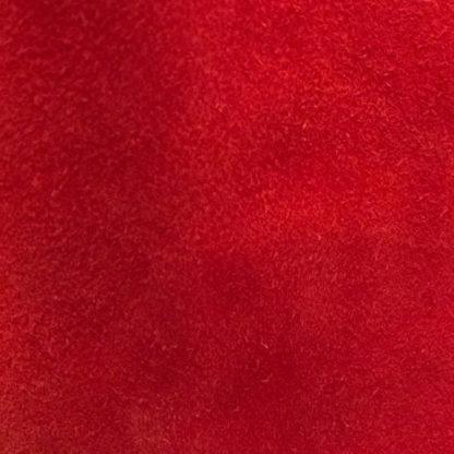 Scarlet Red Suede Lining