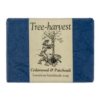 Cedarwood and Patchouli Soap