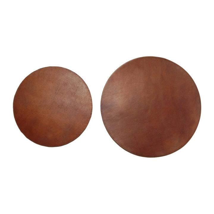 leather placemats