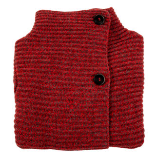 Womens Ribbed Wool Cardigan
