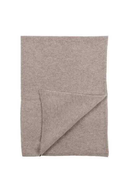 Beige Cashmere Baby Blanket